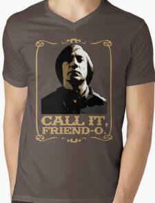 "Anton Chigurh - ""Call it, Friend-o."" Mens V-Neck T-Shirt"