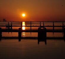 sunrise on the Indian River in Titusville by 1busymom