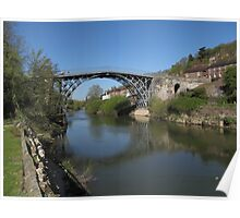 The Ironbridge Shropshire view 6 Poster