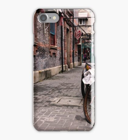 Between these walls - Shanghai, China iPhone Case/Skin