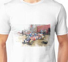 Scuderia Ferrari Paddock Spanish GP 1971 Ferrari 312B2  Unisex T-Shirt