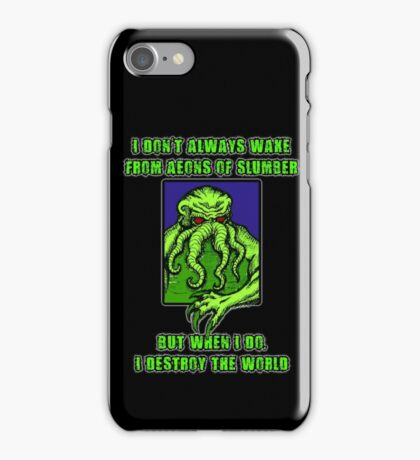 The Most Interesting Great Old One in the World iPhone Case/Skin