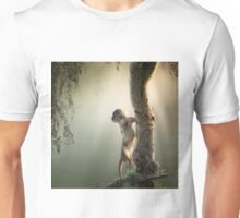 Baby Baboon in tree Unisex T-Shirt