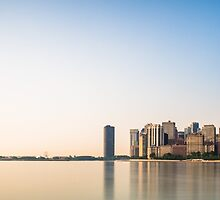 A Golden Chicago Morning by Clay Townsend
