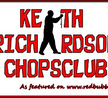 ChopsClub Logo on RedBubble by Keith Richardson