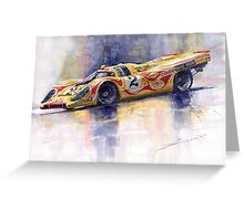 Porsche 917 K Martini Kyalami 1970 Greeting Card