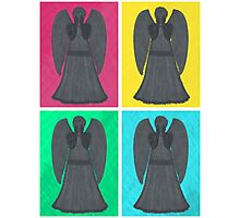 Weeping Angels Pop Art Photographic Print