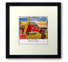 vw art Framed Print