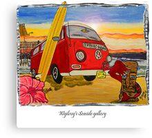 vw art Canvas Print