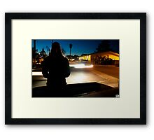Day 142 - Sometimes You Just Need to Stand Still, and Allow the Miracle to Happen Framed Print
