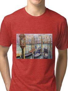 Italy Venice Lamp Tri-blend T-Shirt