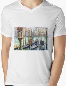 Italy Venice Lamp Mens V-Neck T-Shirt