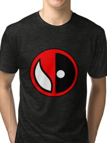 Spideypool Tri-blend T-Shirt
