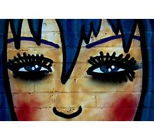 Cartoon Faces Photographic Print
