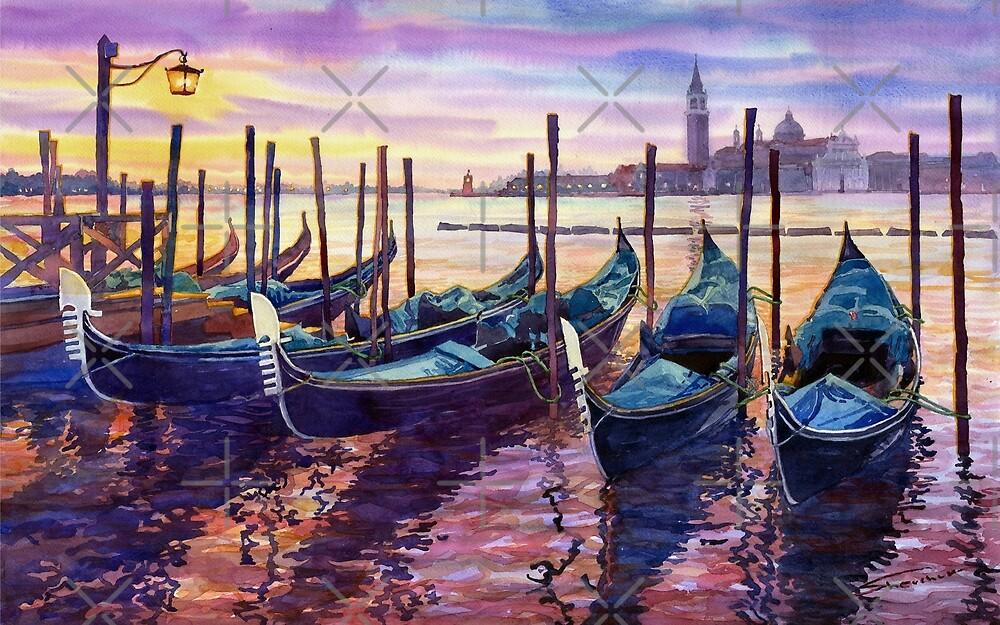Italy Venice Early Mornings by Yuriy Shevchuk