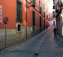 Early Sunday Morning - Toledo, Spain by T.J. Martin