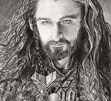 Thorin Oakenshield by LonelyFullMoon