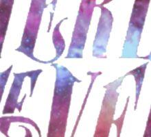 Pierce The Veil Galaxy Logo Sticker