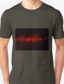 Water on fire Unisex T-Shirt