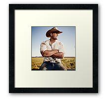 JJ Watt Framed Print