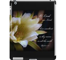 Lord Our Lord iPad Case/Skin