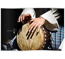 Djembe Drummer Poster