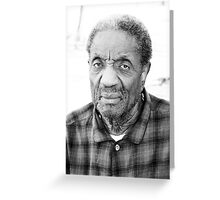 The face of wisdom  Greeting Card