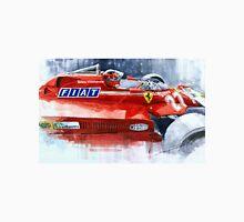 Ferrari 126C Silverstone 1981 British GP Gilles Villeneuve Unisex T-Shirt