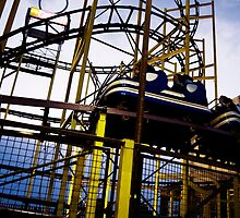 Barrys Amusements Roller coaster by alexandriaiona