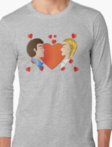 Love and Hearts  Long Sleeve T-Shirt