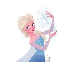 Elsa Frozen by pecamoDESIGN