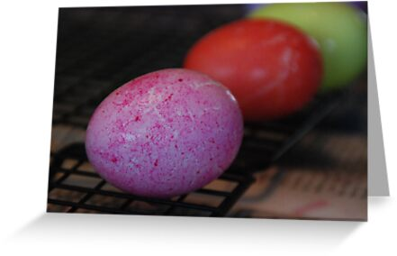 Pink Egg by Vonnie Murfin