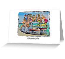 Beach art Greeting Card