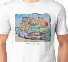 Beach art Unisex T-Shirt