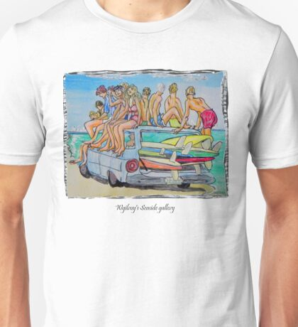 Beach art Unisex T-Shirt