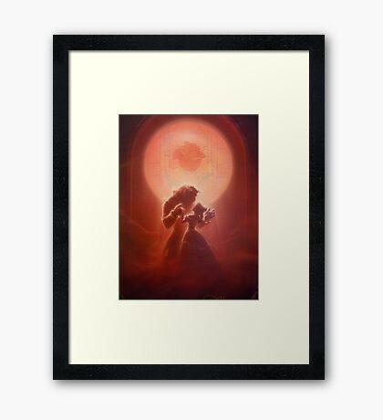 Beauty & The Beast 1 Framed Print