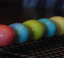 Eggs in a Row by Vonnie Murfin