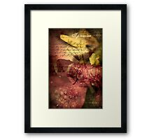A Covenant of Peace Framed Print