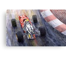 1967 Ferrari 312 F1 Canvas Print