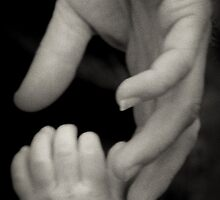 Comfort In Daddy's Hand by LauraMcLean