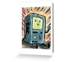 Who wants to play a video game? Greeting Card