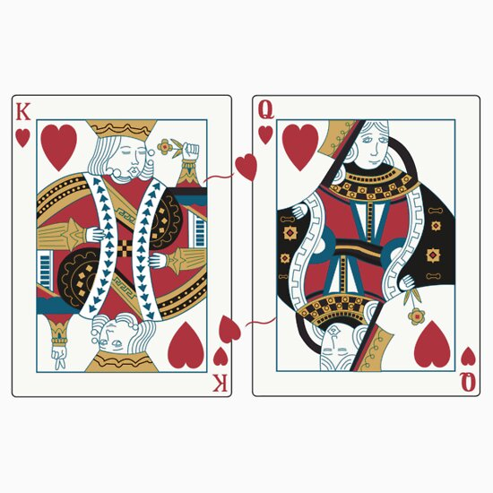 King and Queen T-Shirts & Hoodies by EskimoGraphics | Redbubble