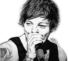 Louis singing by drawpassionn