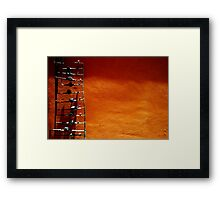 Water pipes Framed Print