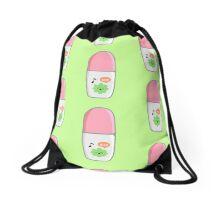 Pink Marker Drawstring Bag
