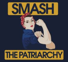 SMASH the patriarchy rosie riveter One Piece - Long Sleeve