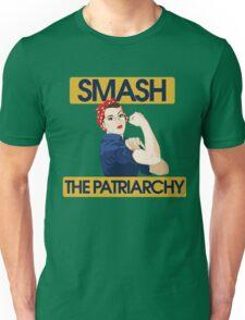 SMASH the patriarchy rosie riveter Unisex T-Shirt