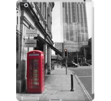 Red Telephone Box and Beetham Tower iPad Case/Skin