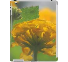 Lantana Through A Glass Dimly iPad Case/Skin