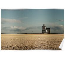 The Old Grain Elevator  Poster